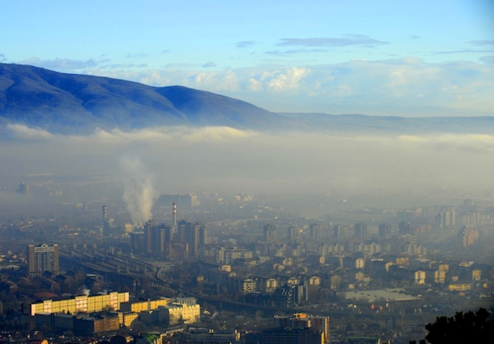 air pollution skopje macedonia