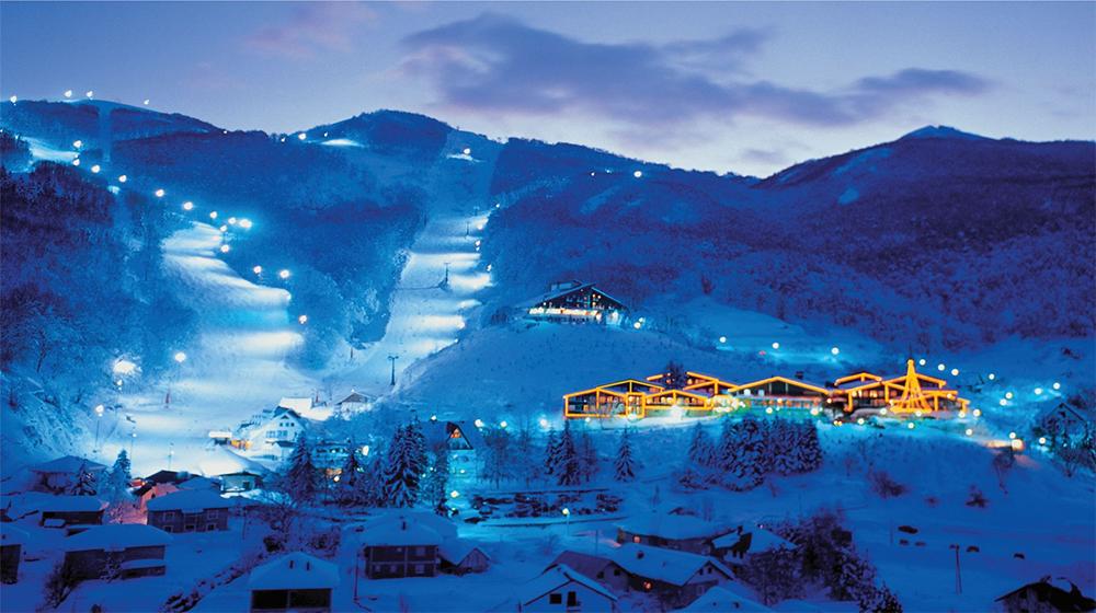 Mavrovo Winter Skiing Macedonia 6