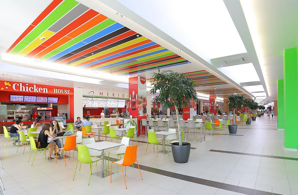 Skopje City Mall Inside
