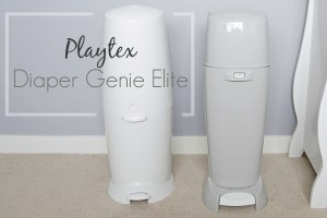 Playtex Diaper Genie Elite: Control the diaper and wipes situation {Review & Giveaway}