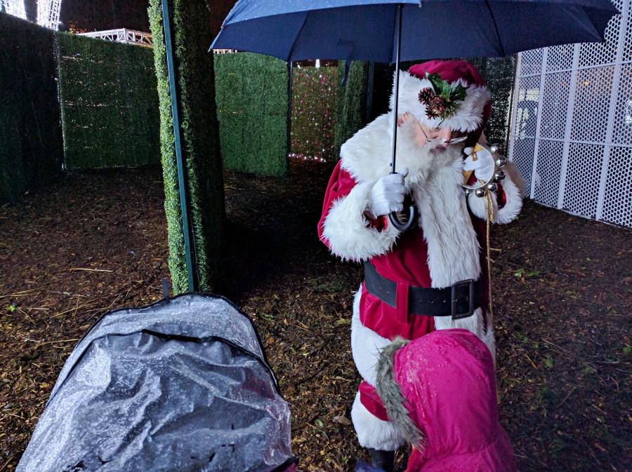Enchant Christmas in Vancouver, Santa Claus