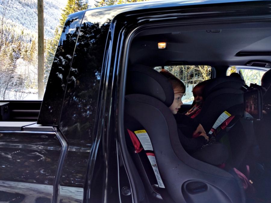 2017 Honda Ridgeline does not have rear doors that open fully