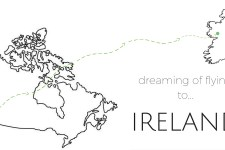 Dreaming of Flying to Ireland