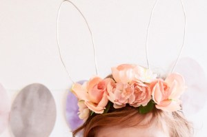 DIY: Floral Easter Bunny Ears