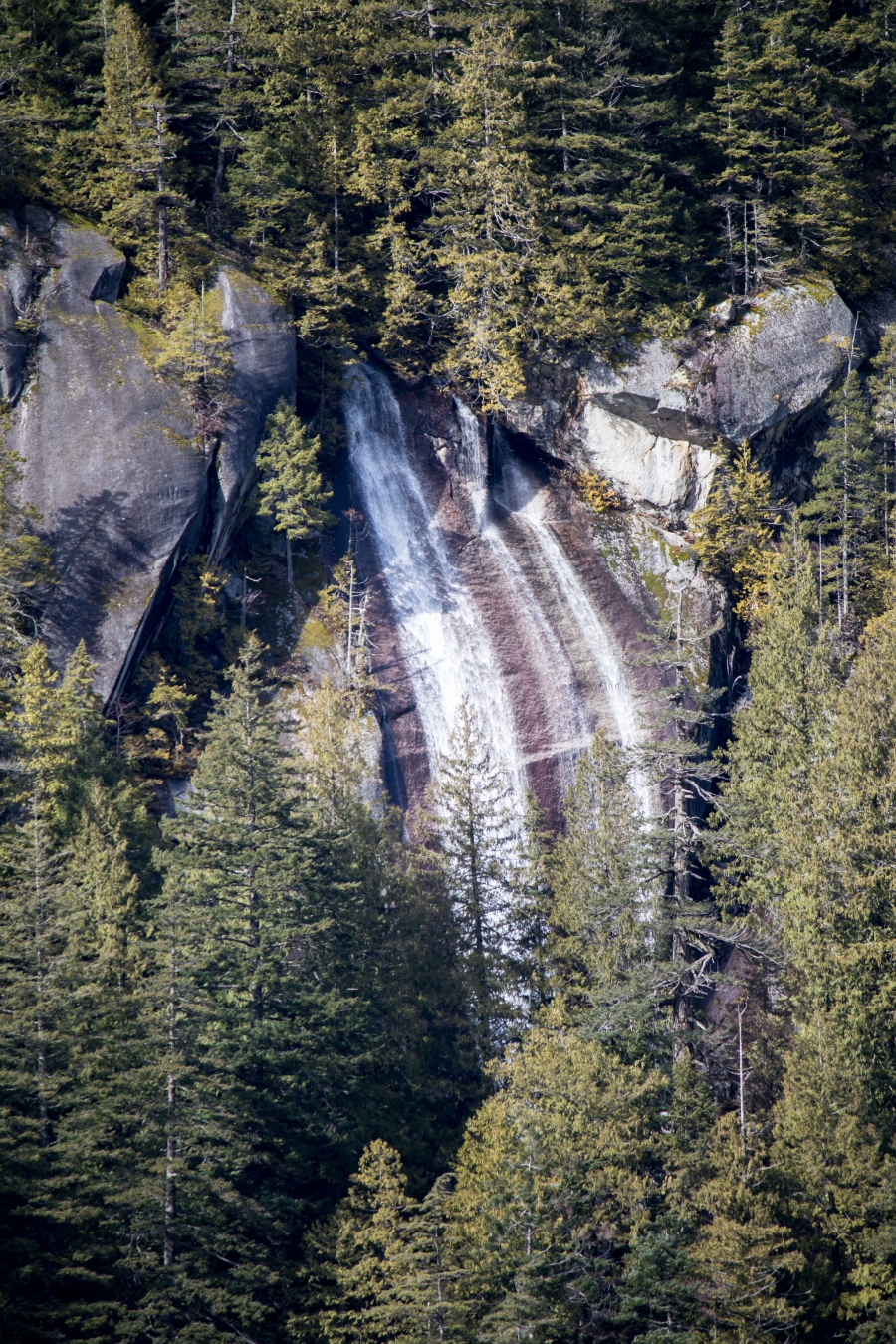 Squamish River Estuary, waterfall