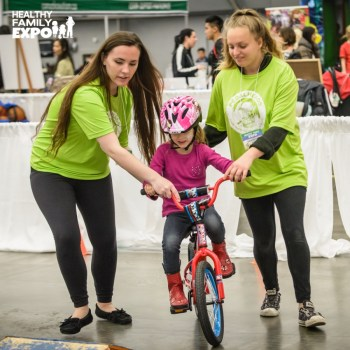Healthy Family Expo, pedalheads bike camp