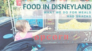 Food In Disneyland: What We Do For Meals And Snacks