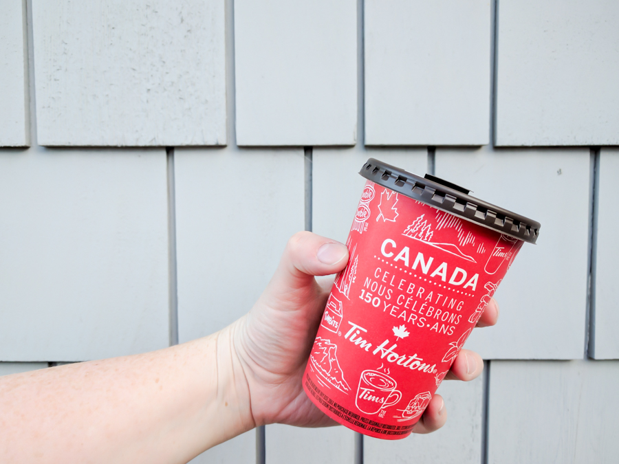 Sometimes you need coffee. Win a Tim Hortons giftcard from Discovering Parenthood. Tim Hortons. Canada 150.