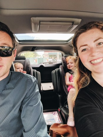 Family of 4 in the 2017 Honda Pilot review