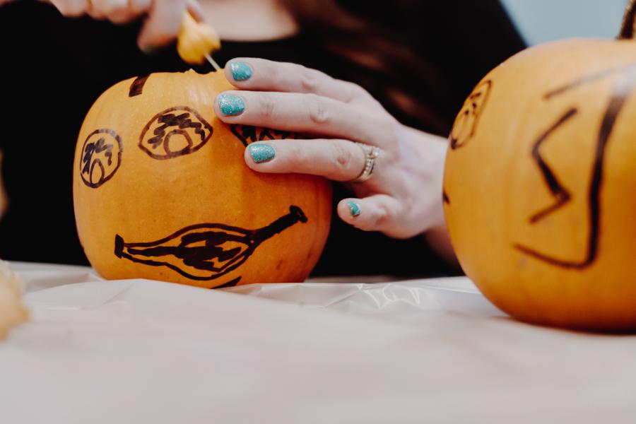 pumpkin carving, Halloween
