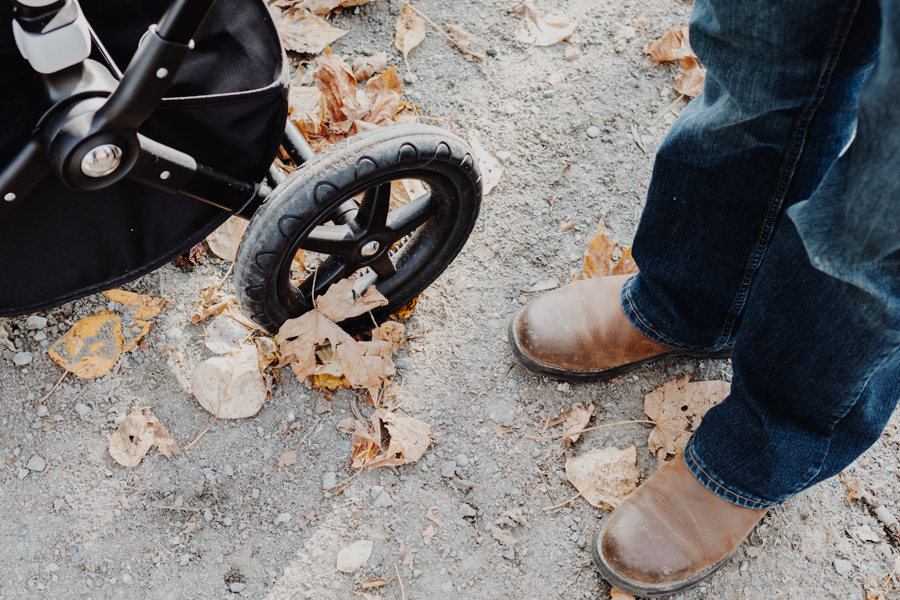 Fall walk, Bugaboo Stroller