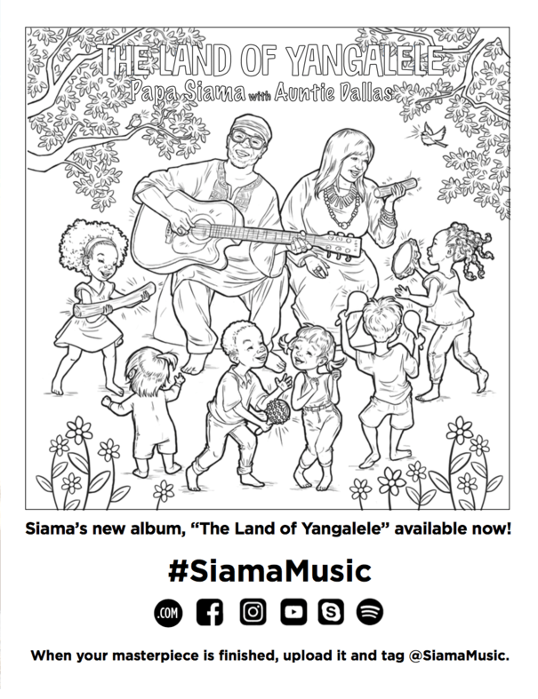 A Journey to The Land of Yangalele African Inspired Music