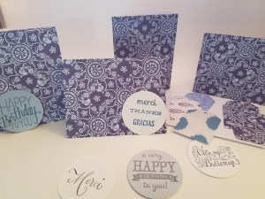 multi-message card set example