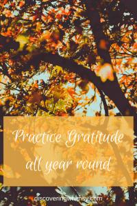 Simple gratitude practices