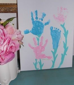 Handprint Canvas painting