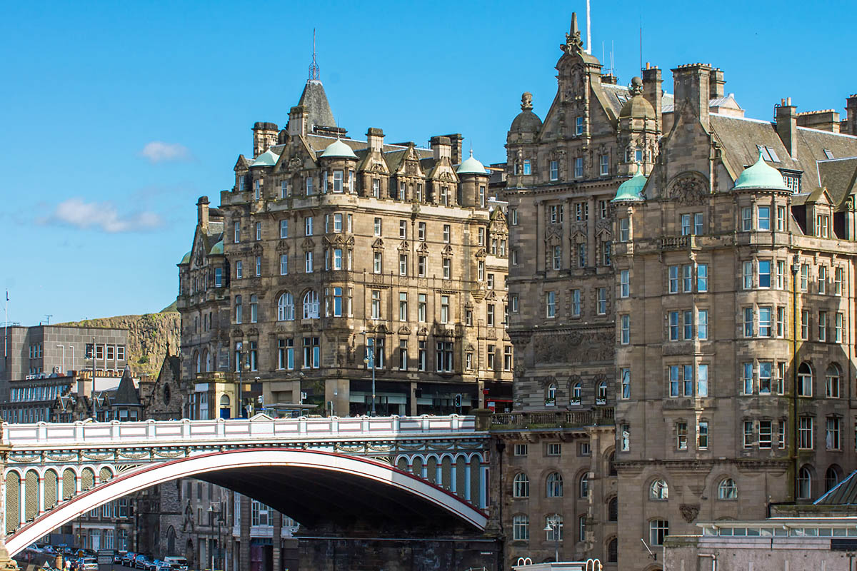 Discover London - VIP tours - Edinburgh Bridge