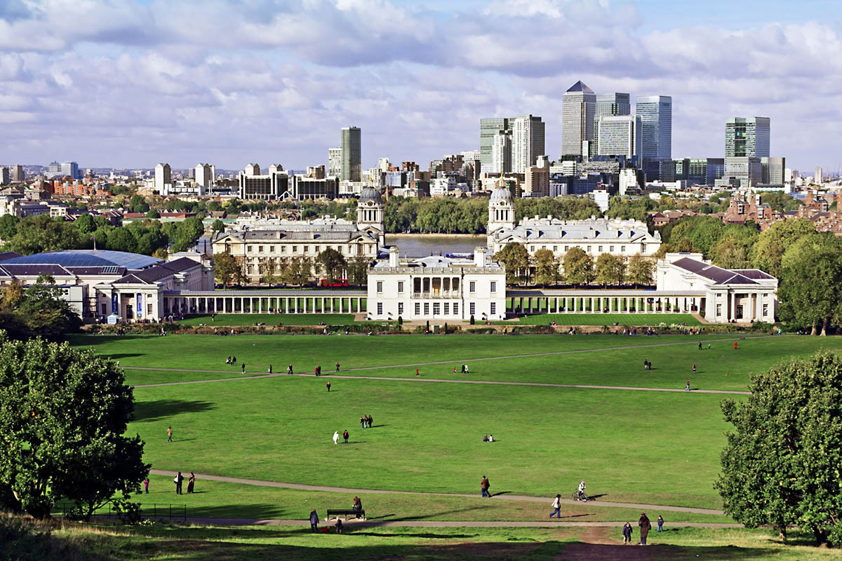 Discover London - Half day tours - Greenwich Park