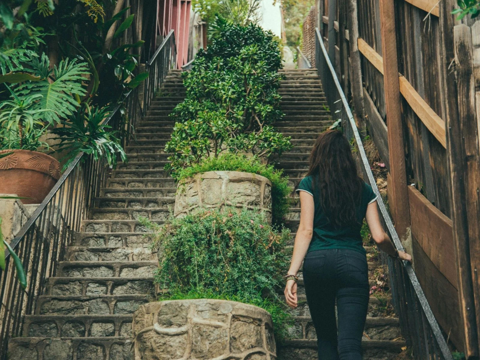 Discover The Hidden Stairs Of Los Angeles Discover Los Angeles   Best Stone For Outdoor Steps   Concrete Steps   Garden   Stair Tread   Limestone   Natural Stone