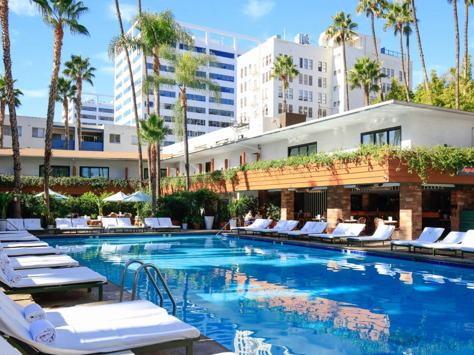 Hottest Hotel Pools In Los Angeles Discover