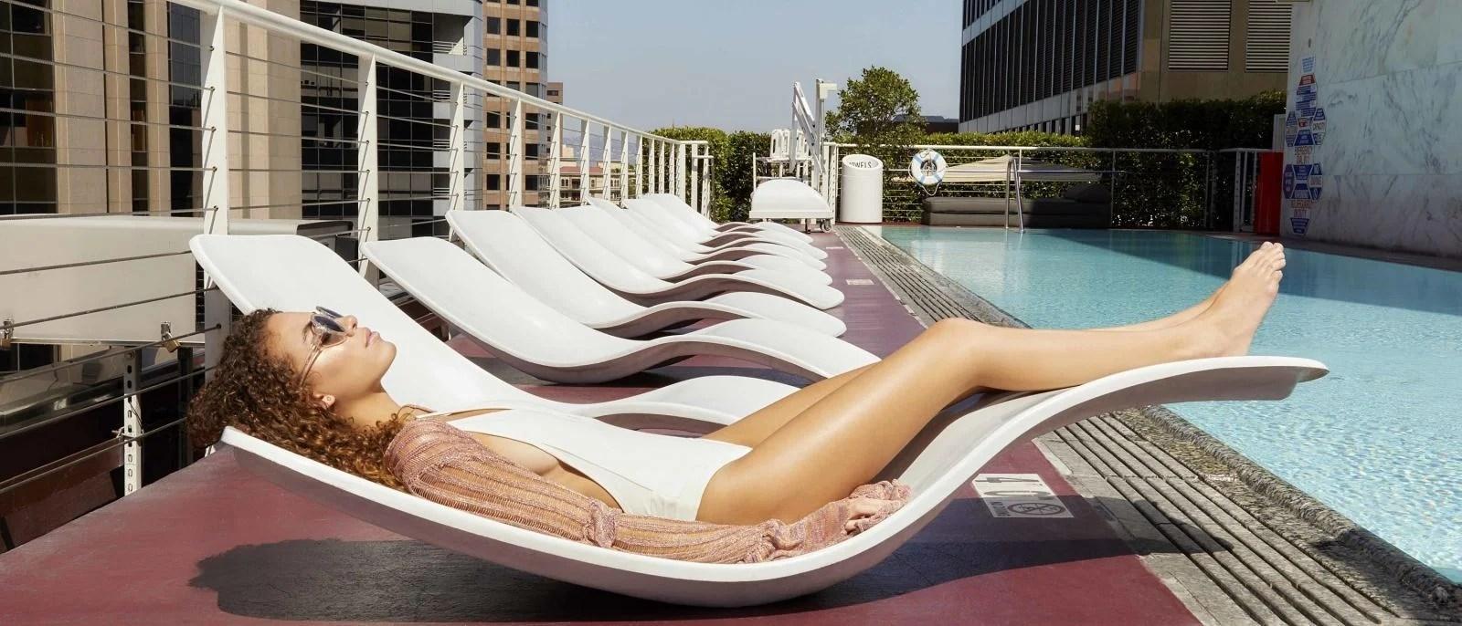 what are pool chairs made out of posture corrector desk chair the hottest hotel pools in los angeles discover standard downtown la