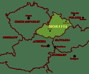 Moravia Line Map copy