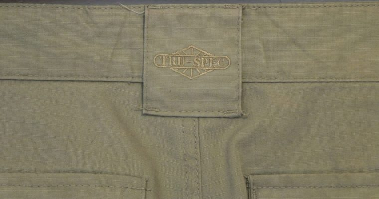 Tru-Spec 24-7 trousers. Real mercenaries wouldn't be seen dead in anything else.