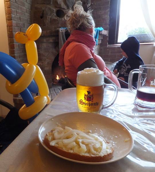A nice glass of foaming beer and some VERY interesting cheese await you in the pubs of Moravia! Pohadkovy Les - Fairytale Forest. Czech traditions.