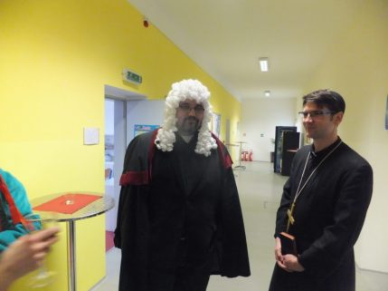 The Judge and The Priest