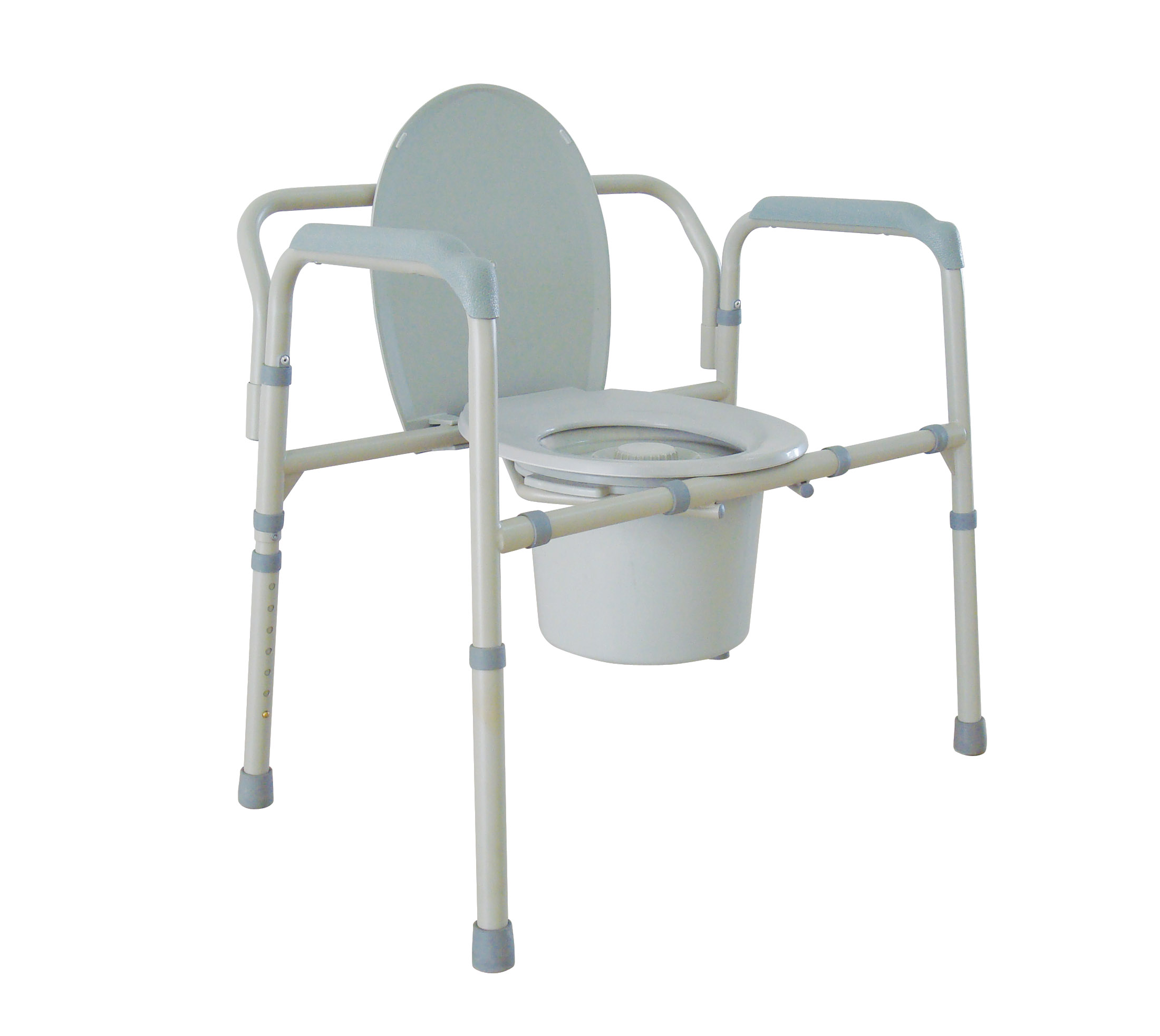 portable potty chair plaid upholstered chairs drive medical 11117n 2 commode