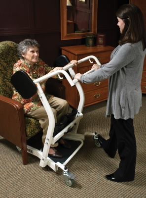seat lifts for chairs gliding rocking chair cushion covers lf1600 stand assist patient transport