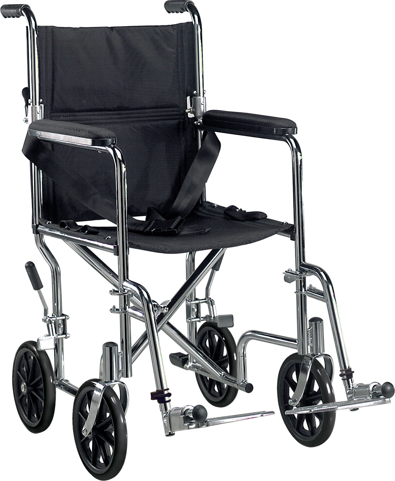 drive transport chair dining table chairs set of 4 medical deluxe go kart steel chrome