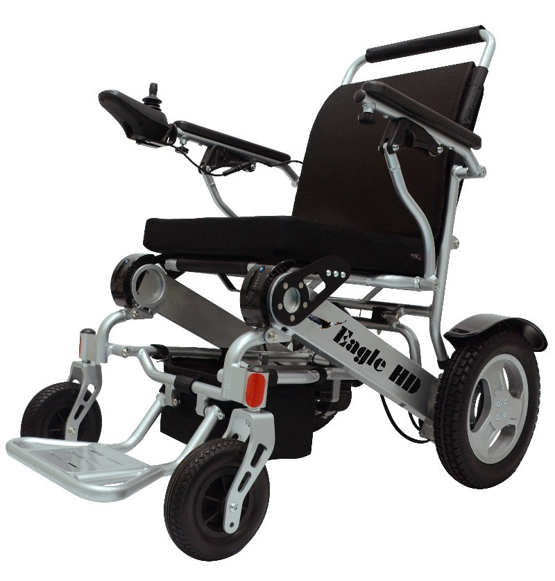 portable wheel chair threshold dining eagle hd bariatric wheelchair the heavy duty power with a weight capacity of 400 lbs only weighing 50 has large 12 inch rear