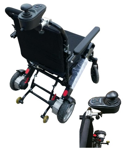 motorized wheel chair cover rentals peterborough ontario the air hawk portable lightweight power wheelchair is available with optional attendant control bracket allowing a health aid or to move controller from arm back