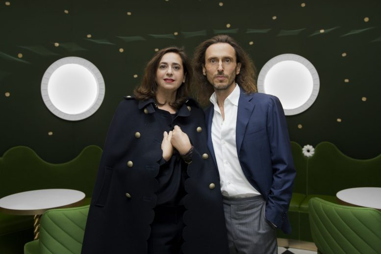 India Mahdavi and David Holder