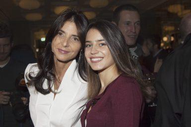 Géraldine Burrus & daughter