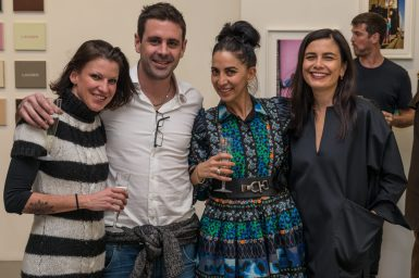 Dominique HIrsiger, Marc, Ariane Tavakol and Frederique Hutter