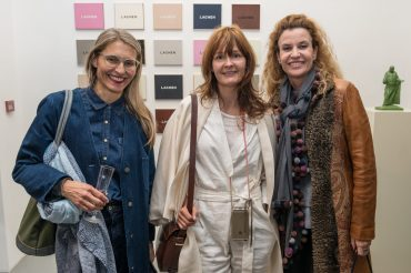 Virginia Maissen, Nina Van Rooijen and Catherine Gonin