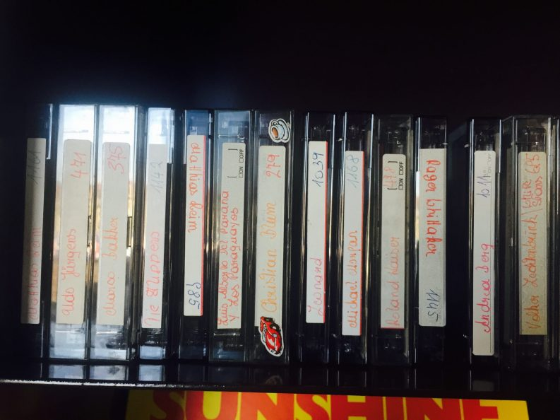 When was the last time you saw Cassette tapes?