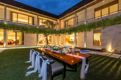 Villa Seriska Jimbaran Wedding Dinner