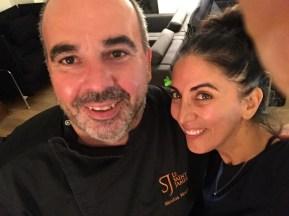 Chef Nicolas Magie and me!