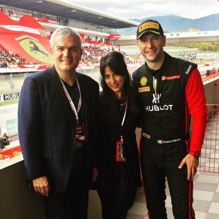Ricardo Guadalupe, Martin Fuentes and I