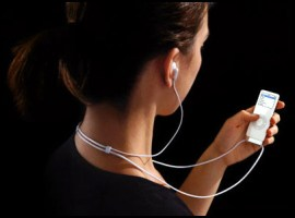 Listening to iPod
