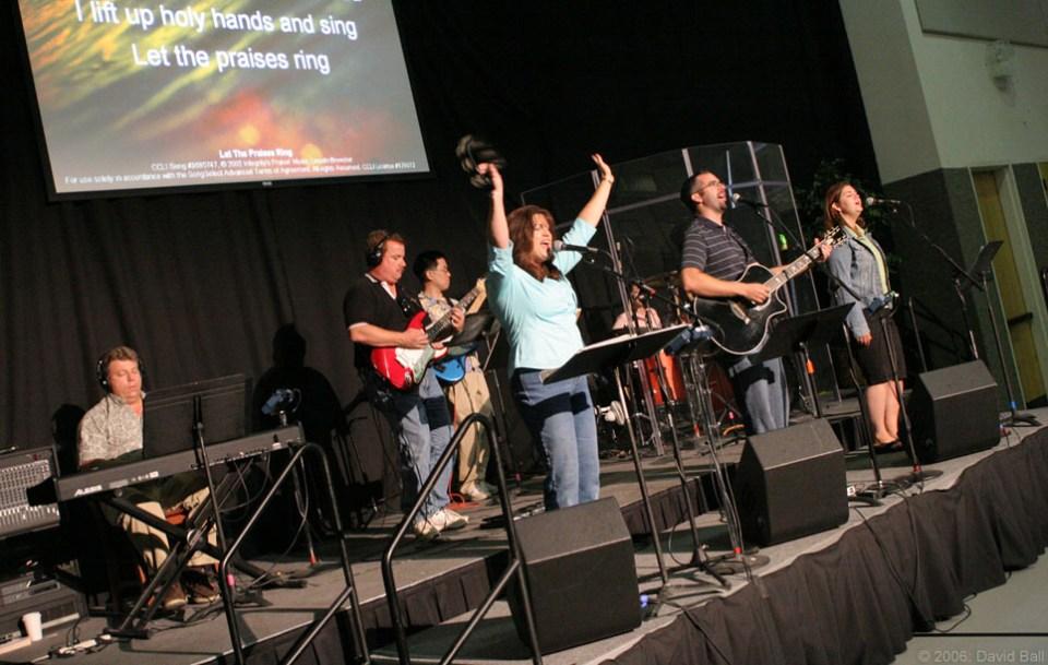 Worship team - music workshops in Edinburgh