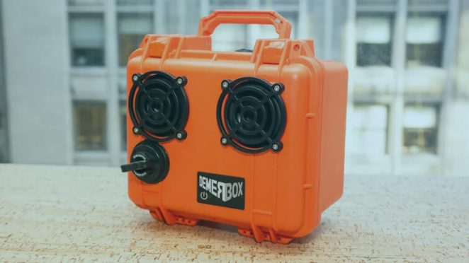 Demer Box Wireless Waterproof Speaker