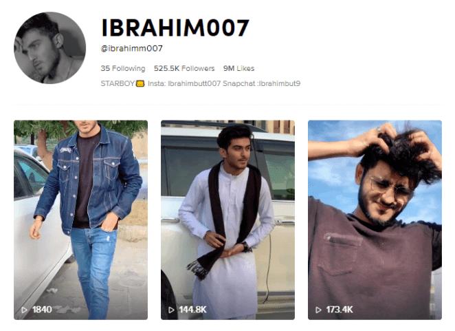 Ibrahim on Tiktok