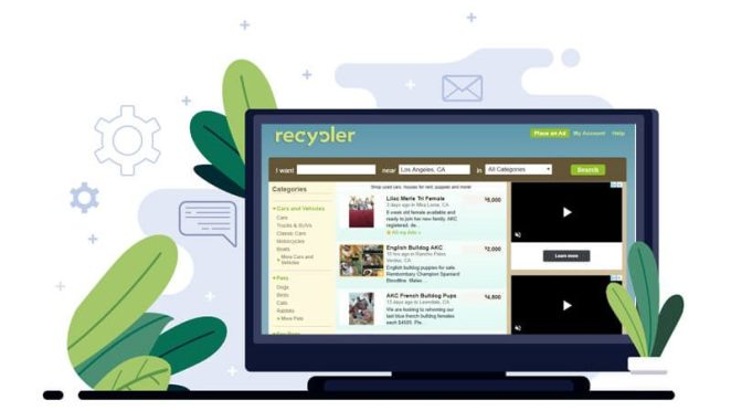 Recycler - local classified ads site