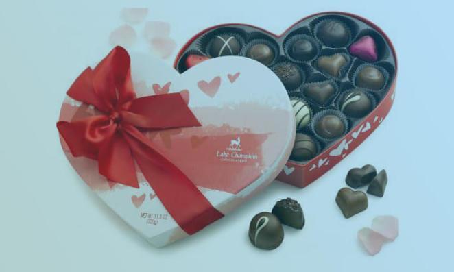 Valentine Day Chocolate Box