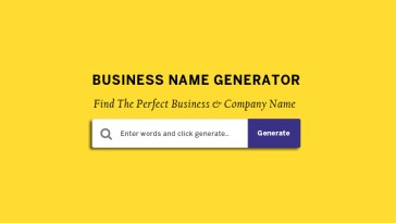 business or company name generators