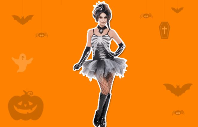Black & Bone Halloween party