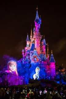 Vier Een Magische Kerst Tijdens Disney' Betoverende